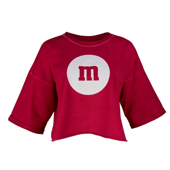 Ladies M&M'S Boxy Crop Tee