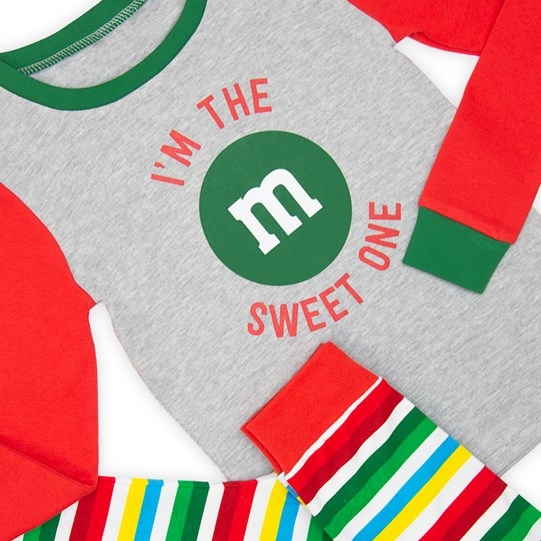 Girls M&M'S Holiday Lounge Set; Detail View
