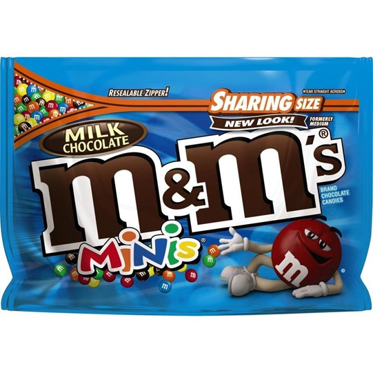 M&M'S Chocolate Minis 10.1 oz Bag, Sharing Size