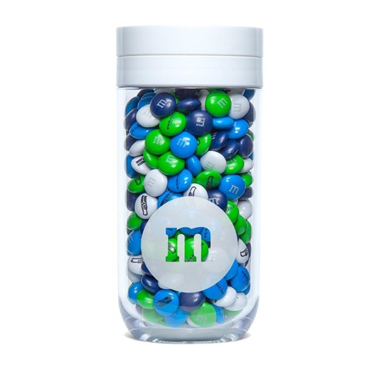 Seattle Seahawks NFL M&M'S Candy Gift Jar