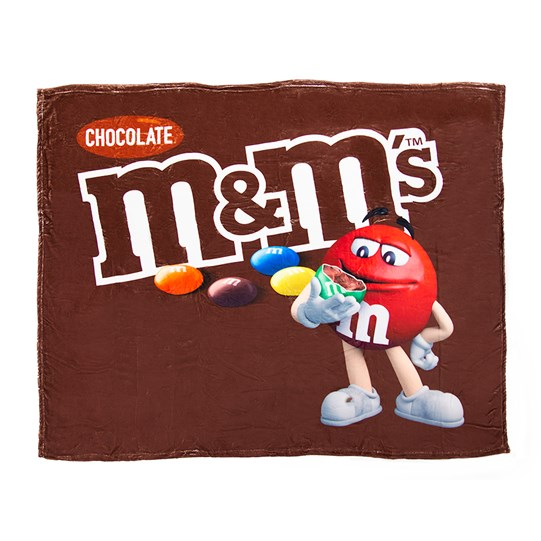 M&M'S Chocolate Bag Blanket; Basic View