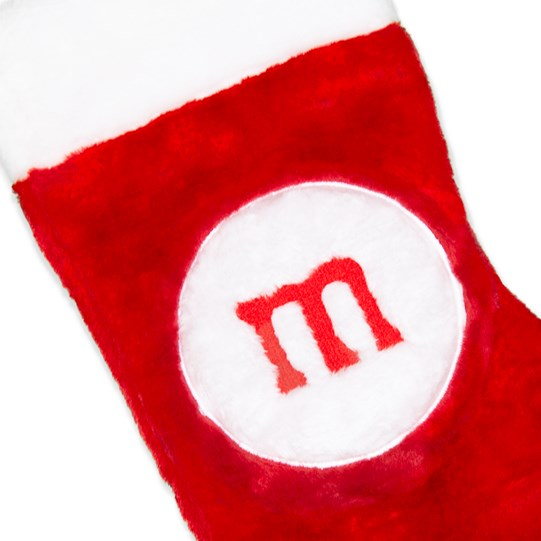 M&M'S Holiday Stocking; Detail View