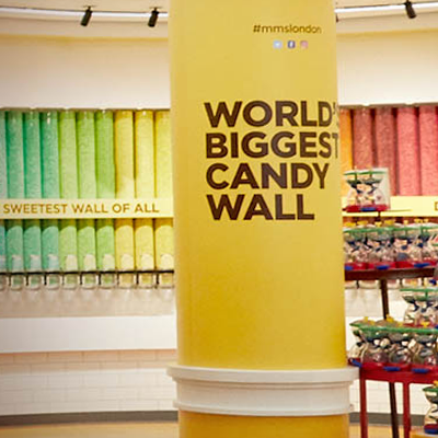 World's Biggest Candy Wall