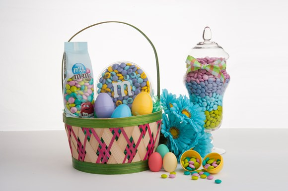 Easter Basket Personalised M&M'S