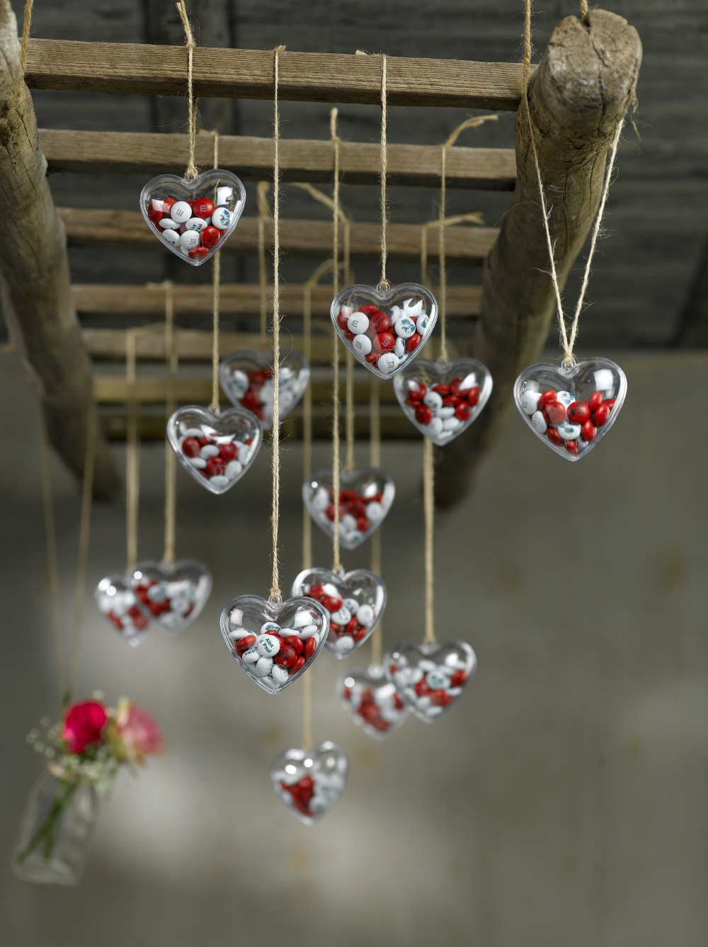 Personalised wedding decorations