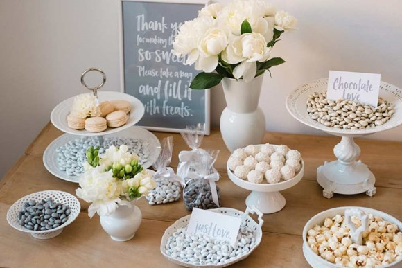 Idee per Candy Bar di matrimonio