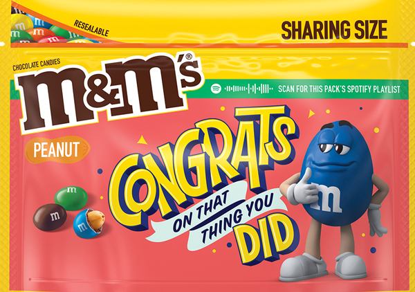 Peanut M and M Message Pack, Option 3