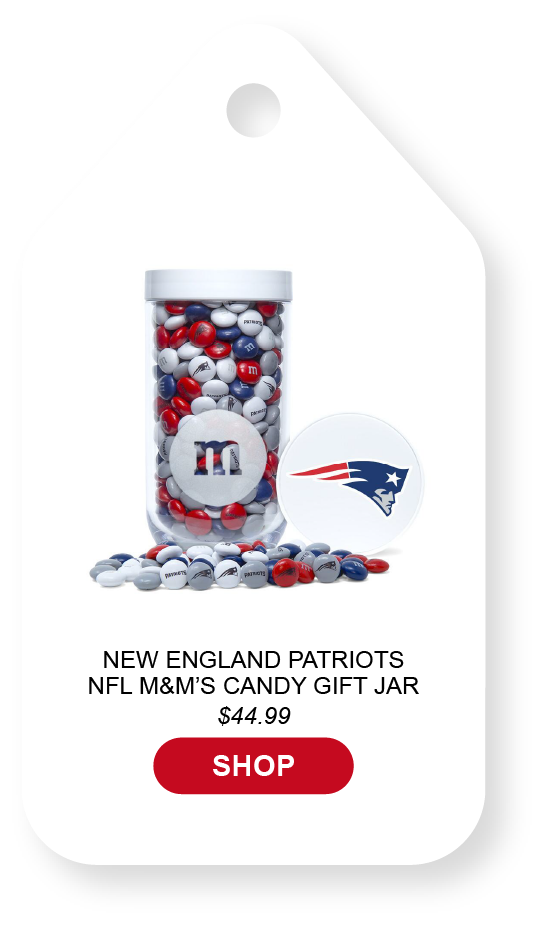 Click to view New England patriots gift jar