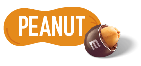 Peanut M and M icon