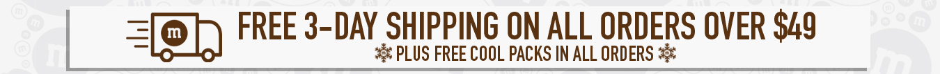 Orders of 49 dollars and up include free three day shipping