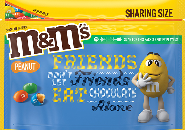 Peanut M and M Message Pack, Option 2