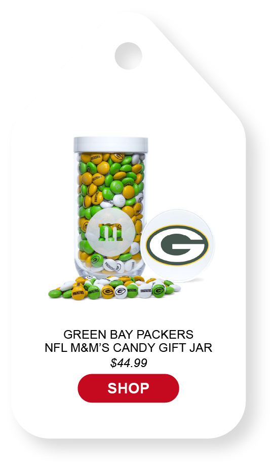 Click to view green bay packers gift jar