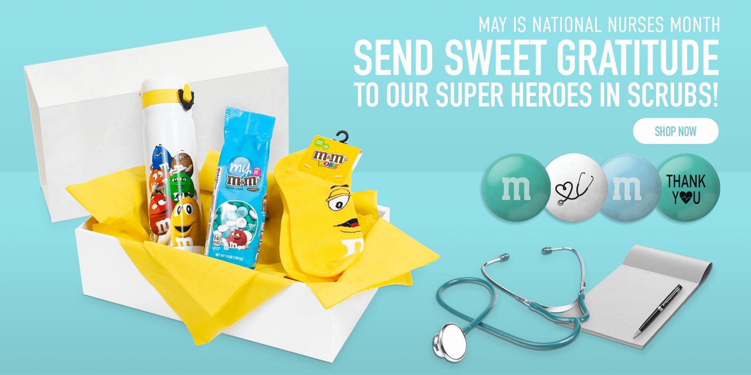 Click this banner to view our thank you healthcare bundle, a great gift for National Nurses Month