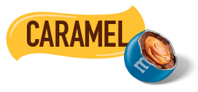 Caramel M and M icon