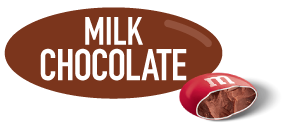 Milk Chocolate M and M Icon