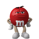 Small Red M&M'S Character