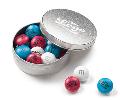 On-trend promotional products at M&M's