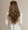 Light Ash Brown (10) Back Wavy - Couture