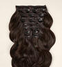 Dark Brown (2) Wefts 10 Pc Set