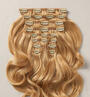Ginger Blonde (613/27) Wefts 10 Pc Set