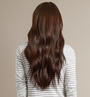Chestnut Brown (6) Back Wavy - Select