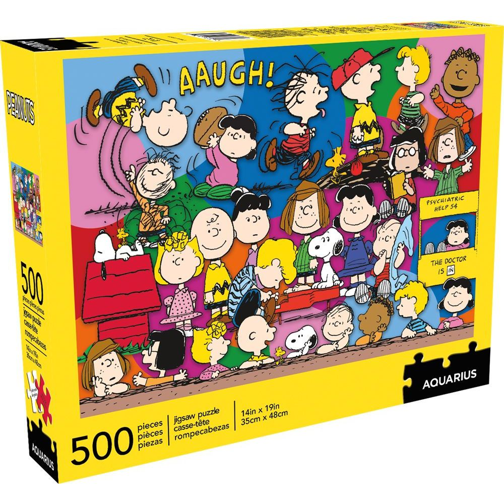 Best Peanuts Cast 500pc Puzzle You Can Buy