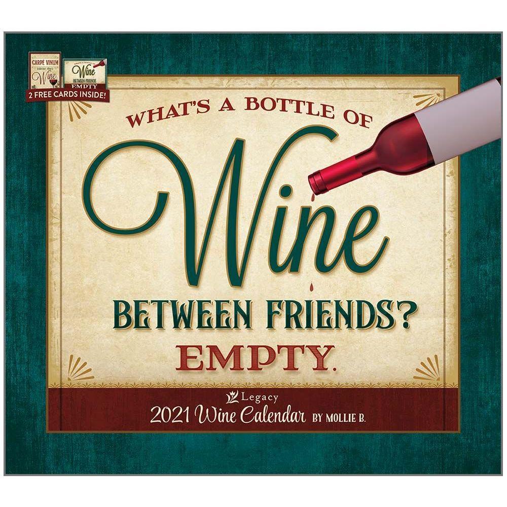 Wine Art 2021 Wall Calendar