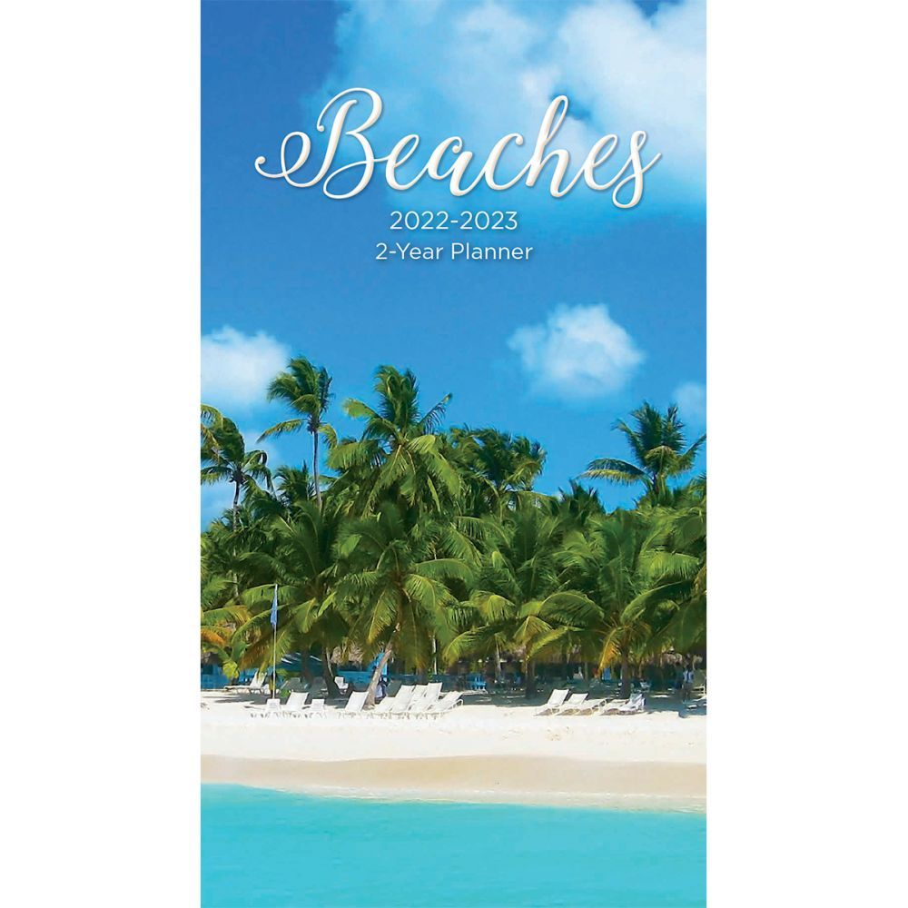 Beaches 2022 2 Year Planner