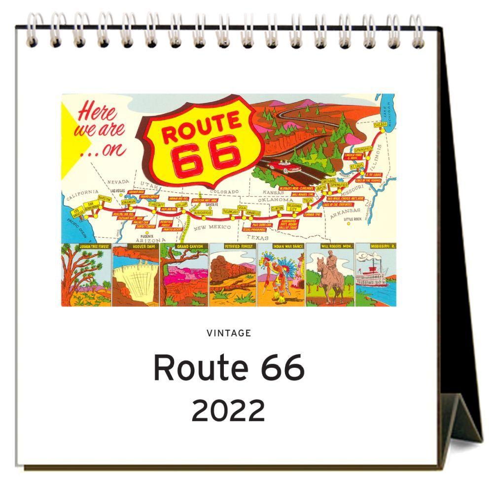 Route 66 2022 Desk Calendar