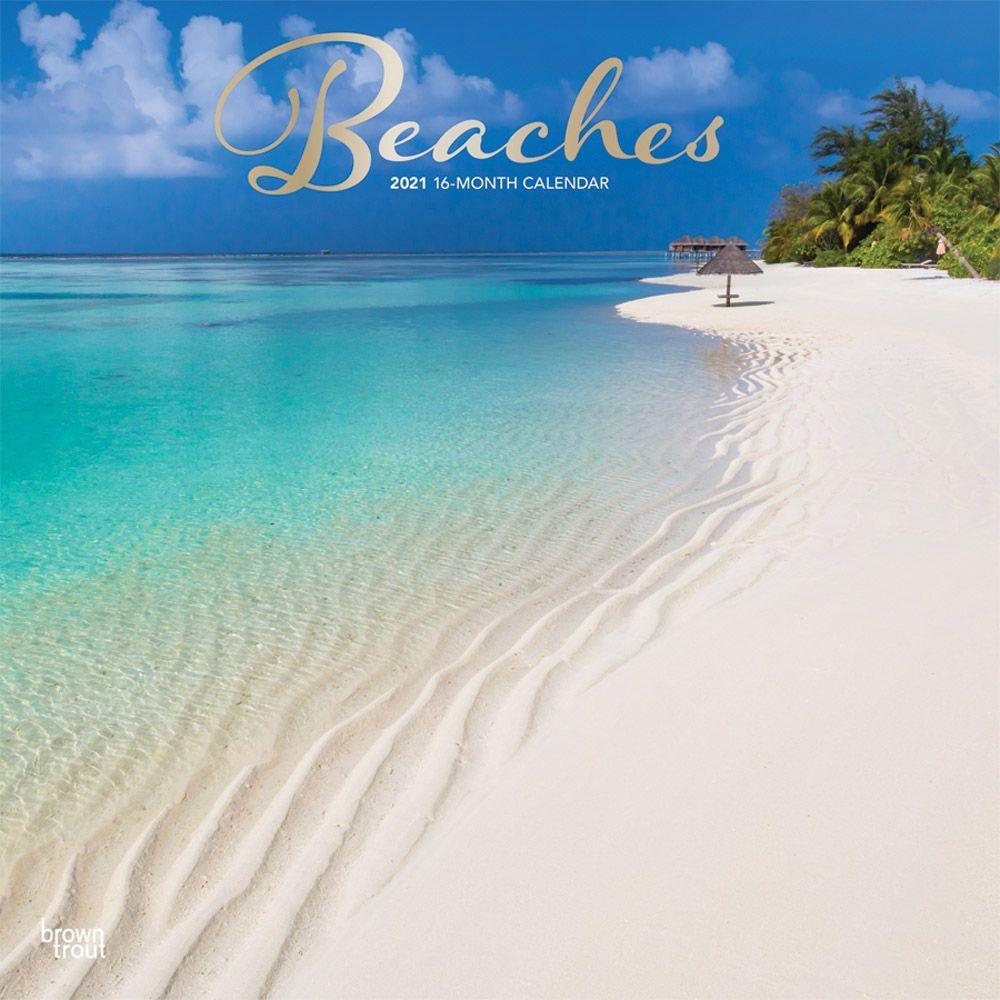 2021 Beaches Wall Calendar