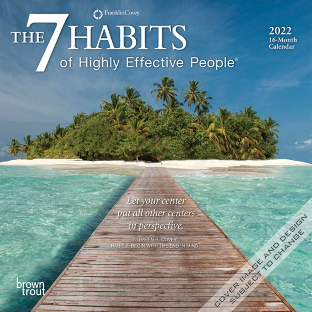 7 Habits of Highly Effective People 2022 Mini Wall Calendar