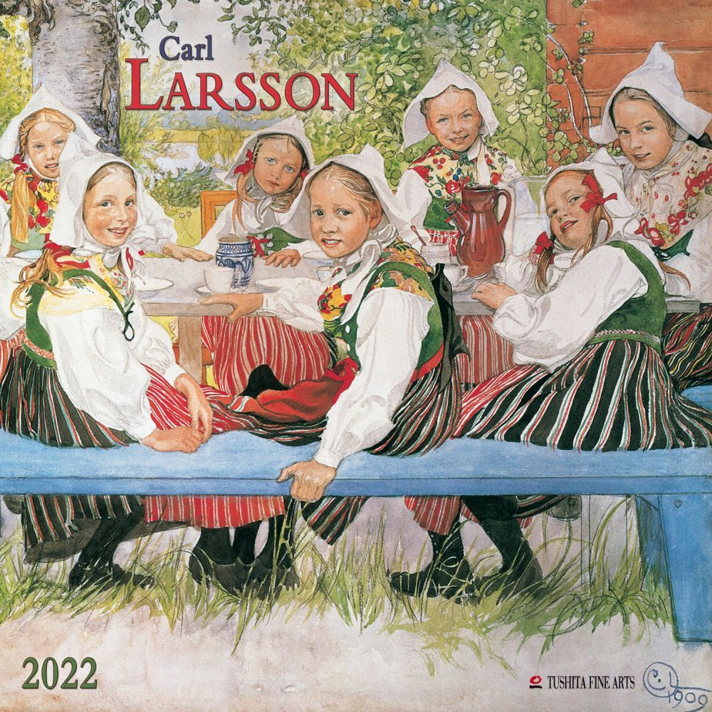 Larsson Tushita 2022 Wall Calendar