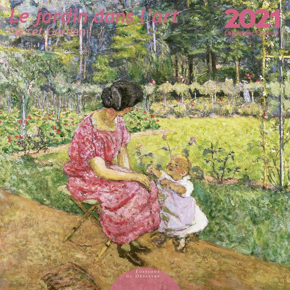 2021 Jardin Dans Lart EdD Wall Calendar