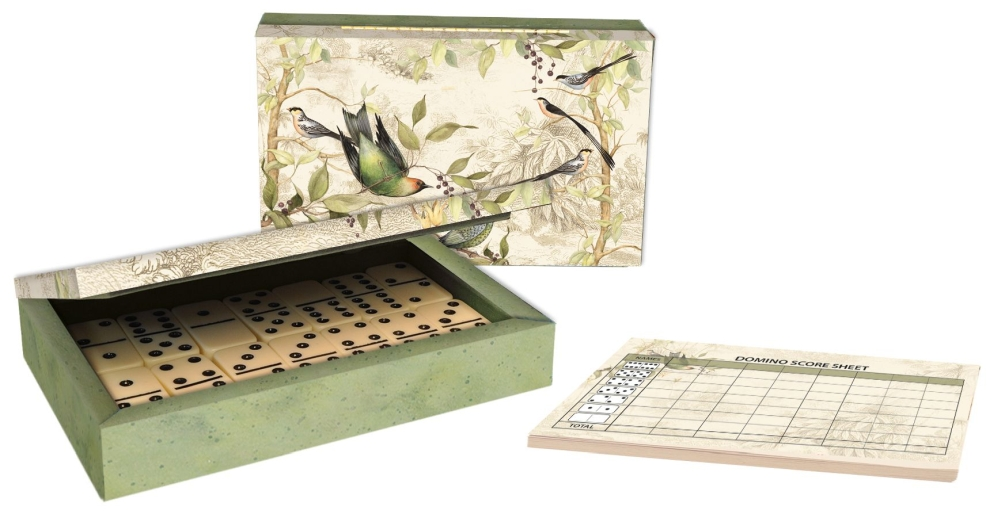 Tropical-Birds-Domino-Set-1