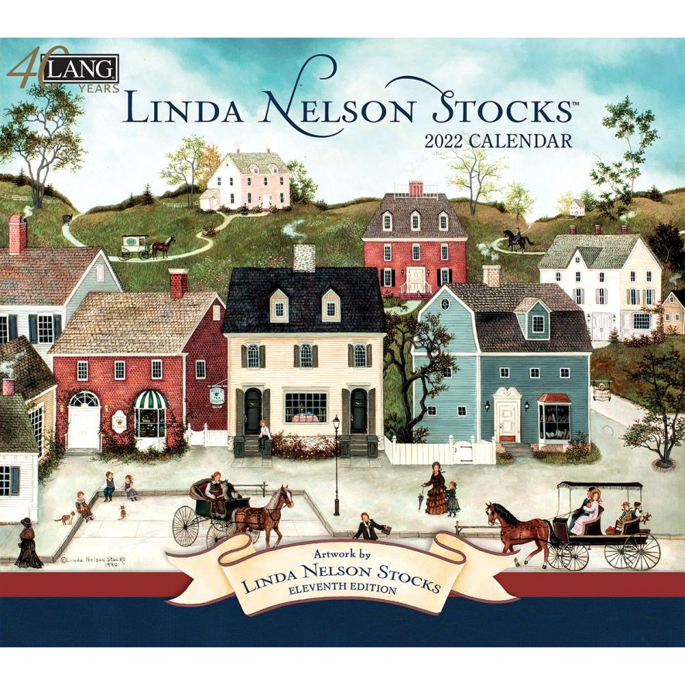 Linda Nelson Stocks 2022 Wall Calendar