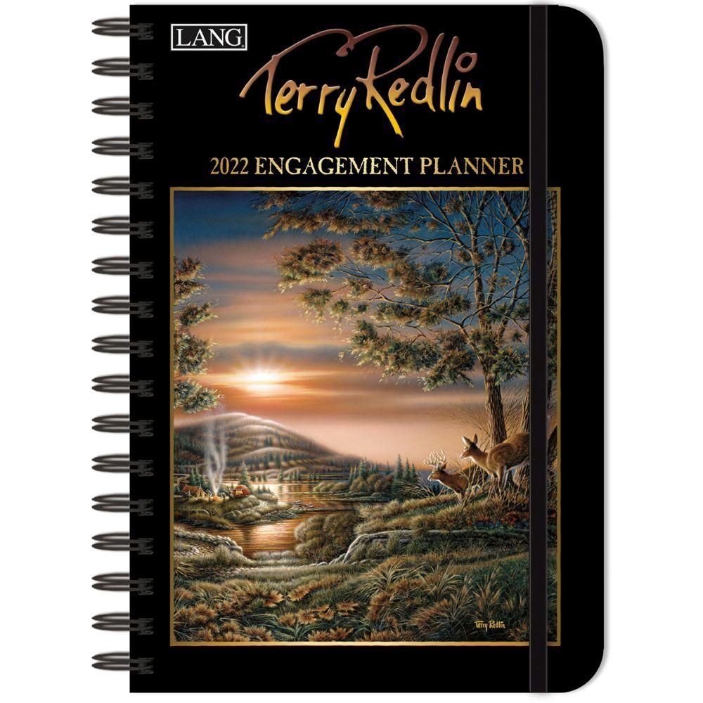 Terry Redlin 2022 Spiral Engagement Planner