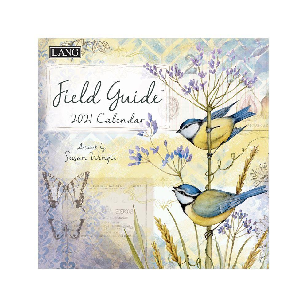 2021 Field Guide Mini Wall Calendar by Susan Winget
