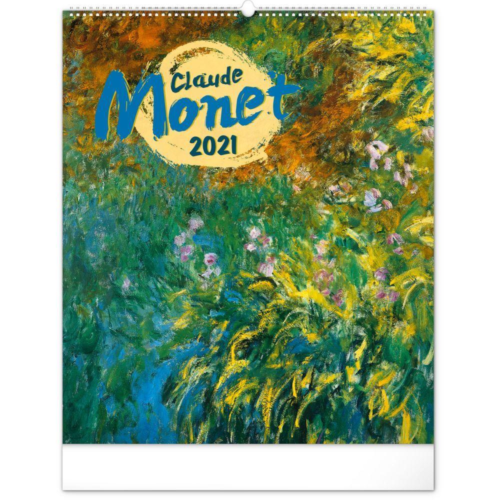 2021 Claude Monet Poster Wall Calendar