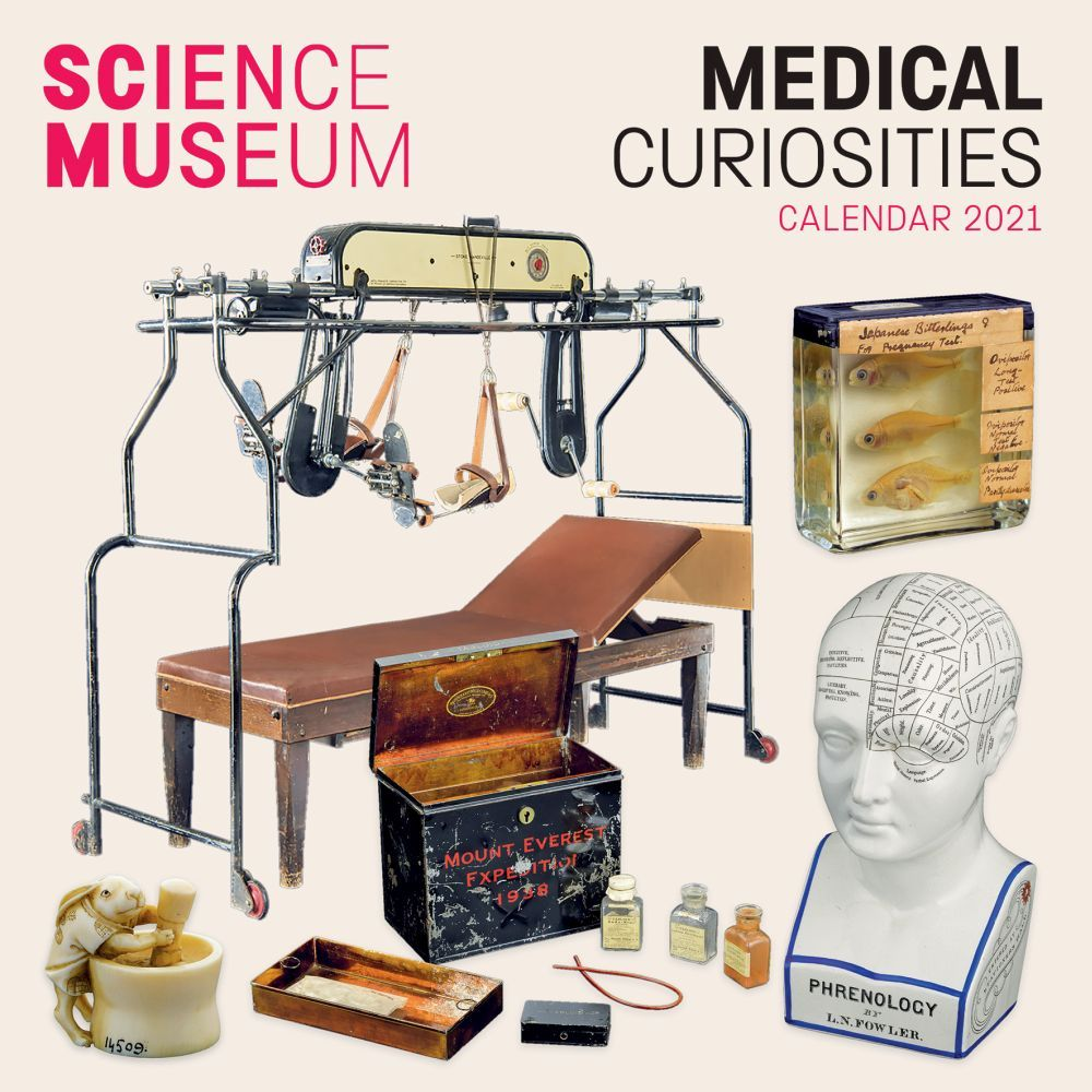 2021 Medical Curiosities Science Museum Wall Calendar