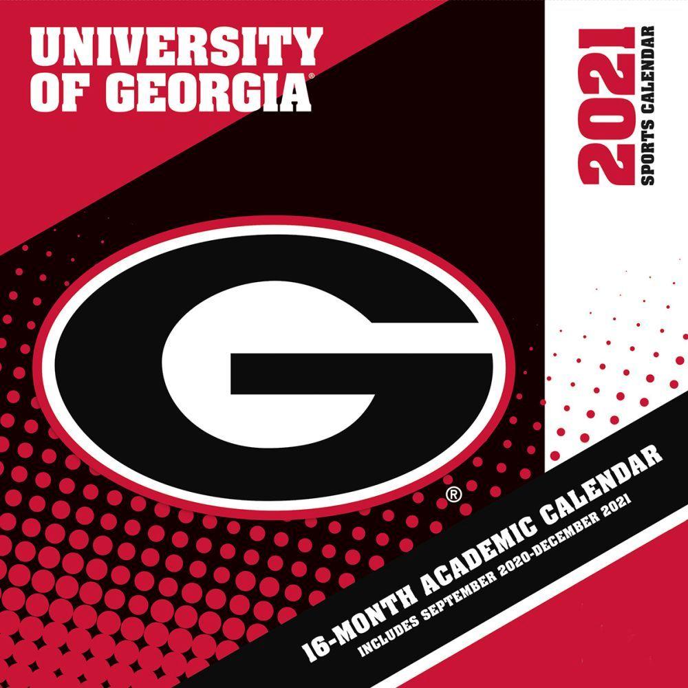 2021 COL Georgia Bulldogs Mini Wall Calendar