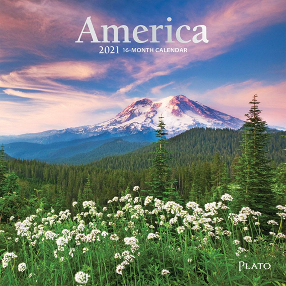 2021 America Mini Wall Calendar