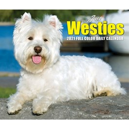 Just Westies Desk Calendar