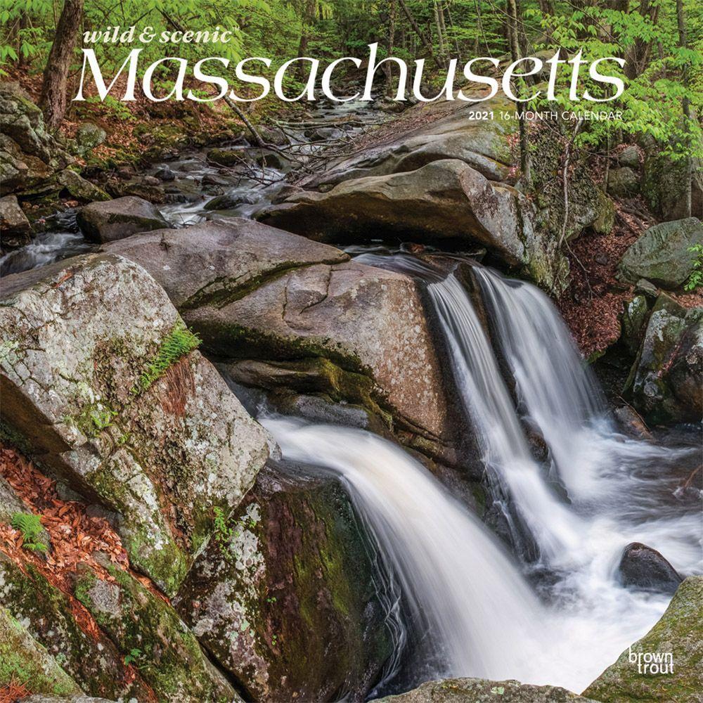 Massachusetts Wild and Scenic 2021 Wall Calendar