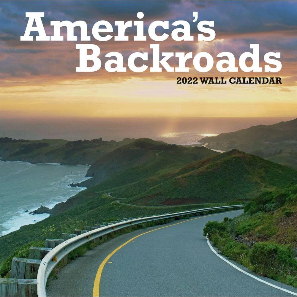 Americas Backroads 2022 Wall Calendar