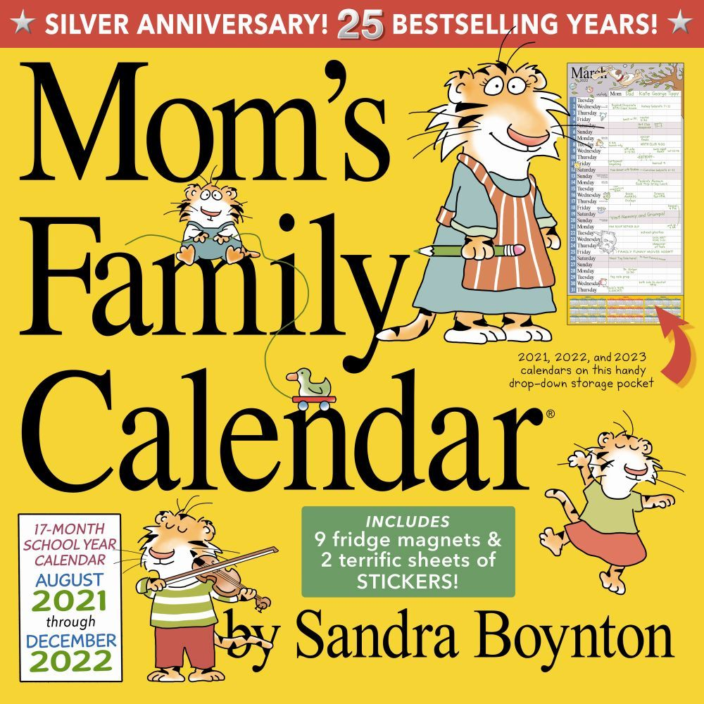 Mom's Family 2022 Wall Calendar
