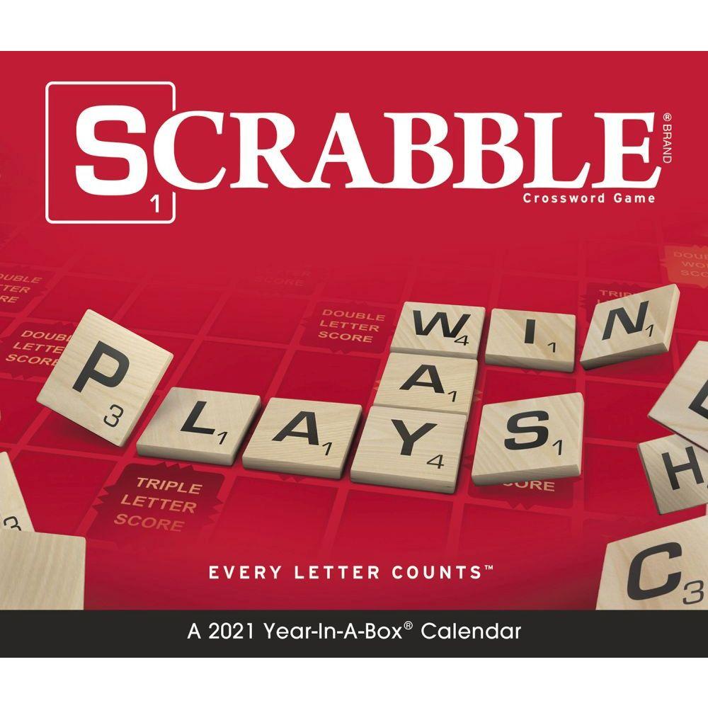 Scrabble Page-A-Day 2021 Desk Calendar