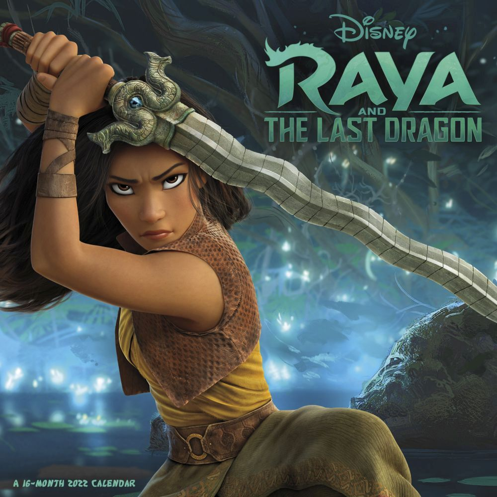 Raya & the Last Dragon 2022 Wall Calendar