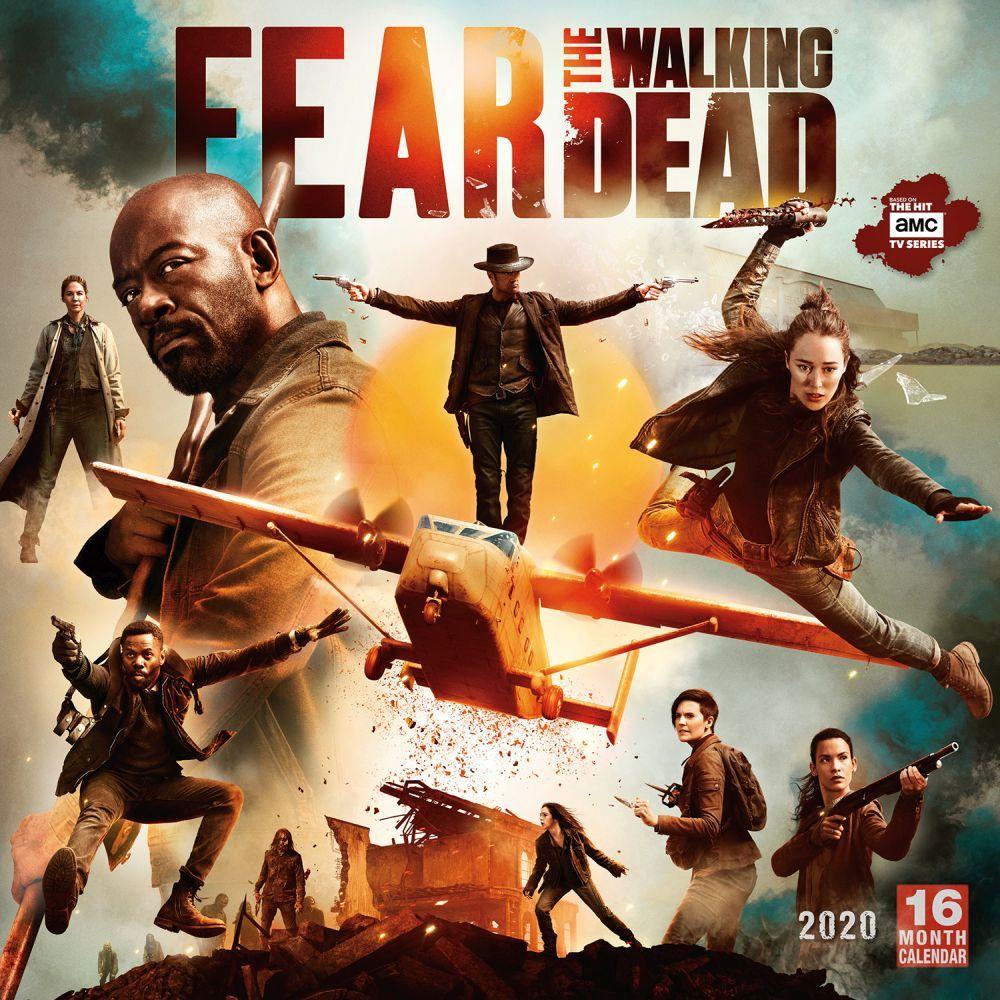 Walking Dead 2022 Calendar.Fear The Walking Dead Wall Calendar Calendars Com