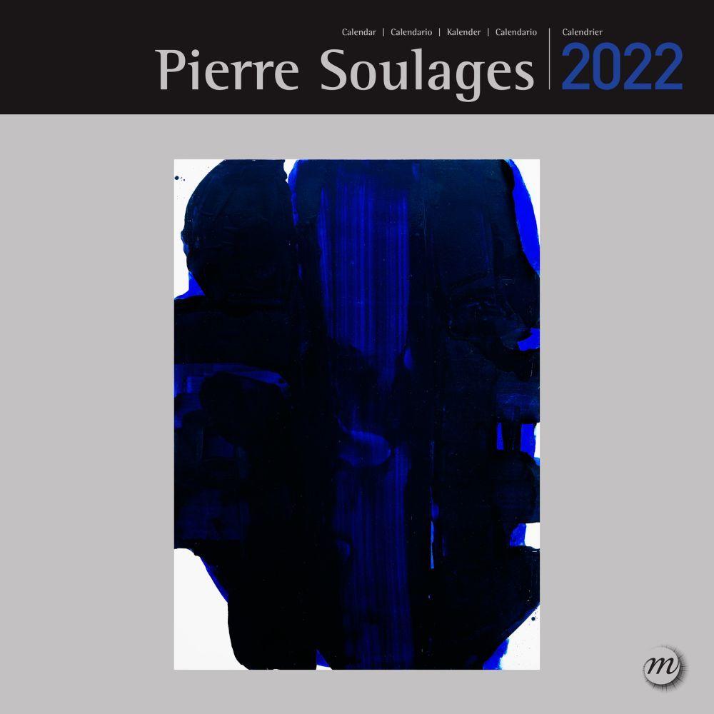 Soulages RMN 2022 Wall Calendar