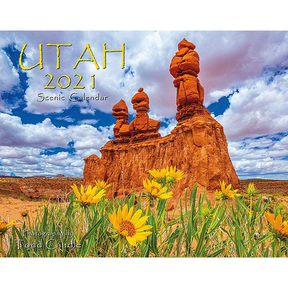 2021 Utah Wall Calendar